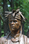 Chief Noonday, (Noahquageshik) Monument