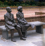 Thurgood Marshall seated figures